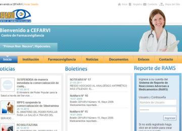 CEFARVI Centro de Farmacovigilancia